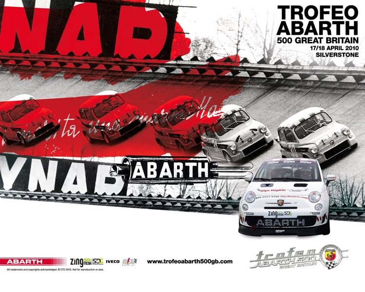 Abarth UK - Trofeo Abarth 500 Championship Marketing and Promotion