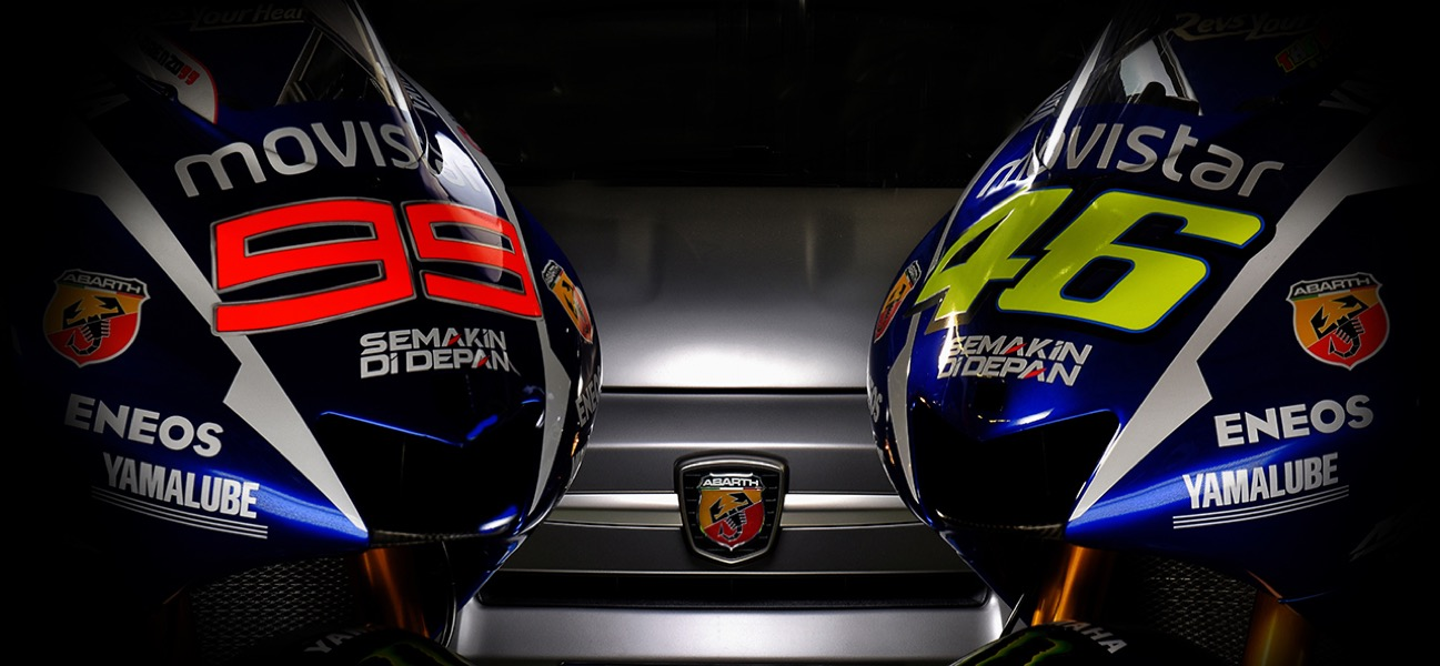 Yamaha - Abarth UK - MotoGP - Sponsorship Activation and Social Media