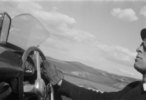 Louis Klemantaski: Peter Collins - Giro di Sicilia 1956 - Ferrari