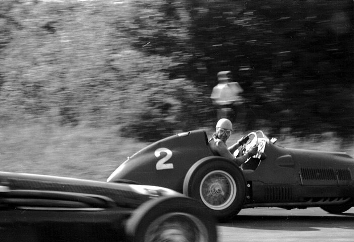 1951 Italian Grand Prix; Monza Ferrari Alberto Ascari